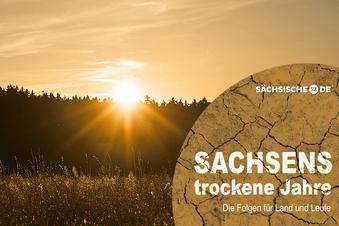 Trockene Zeiten und extremes Wetter in Sachsen