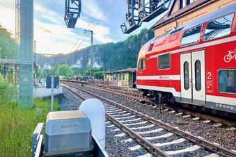 Schlägerei in S-Bahn
