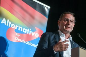 AfD-Kandidat Chrupalla gibt sich zufrieden