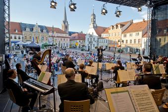 Konzert mit Abstand nicht nur im Publikum
