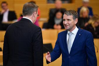 Ramelow verweigert Höcke den Handschlag