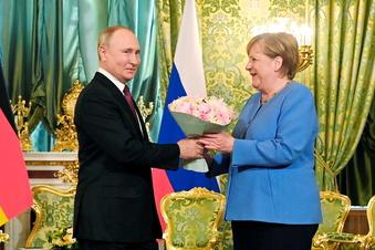 Merkel fordert von Putin erneut Freilassung von Nawalny