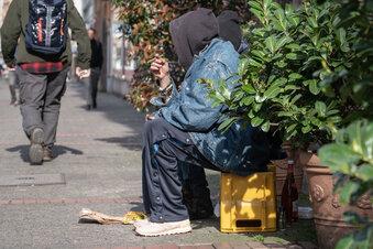 Obdachlosenunterkunft im Corona-Modus