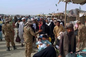 Sorge vor einer afghanischen Flüchtlingskrise wächst