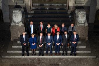 Sachsens neue Regierung steht