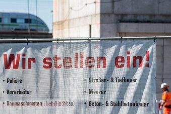 Sachsens Arbeitsmarkt erholt sich etwas