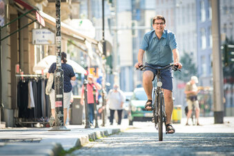 """Fahrradclub: """"Wir brauchen Alltagsrouten in Dresden"""""""