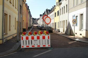 Annenstraße in Hartha bald wieder dicht