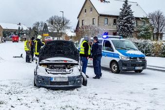 Döbeln: Nach Wintereinbruch 26 Unfälle