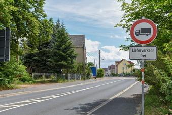 Siebenlehn: Lkw-Durchfahrtsverbot kontrolliert
