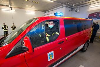 Neues Auto für Waldheims Feuerwehr