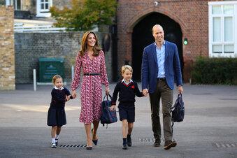 Prinzessin Charlotte ist nun ein Schulkind