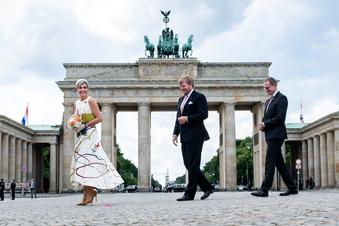 Königspaar der Niederlande besucht Berlin