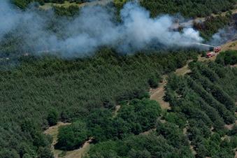 Waldbrandgefahr durch Partys in der Dresdner Heide