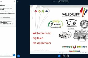 Digitales Klassenzimmer in Wilsdruff