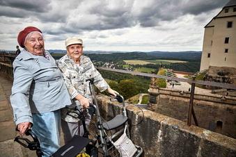 Königstein: Die Festung mit dem Rollator erleben