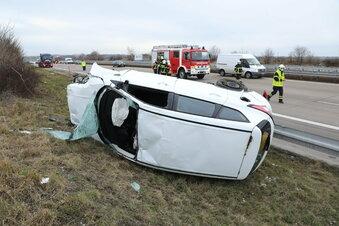 Schwerer Verkehrsunfall auf der A4