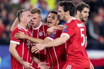 Bayern nach 2:1 auf Halbfinalkurs