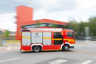 Drei Verletzte bei Wohnungsbrand in Dresden