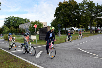 Radfahrausbildung für Grundschüler