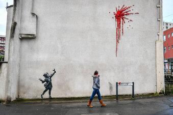 Neues Banksy-Werk in England aufgetaucht