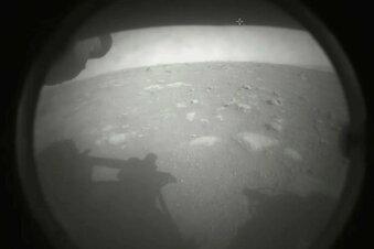 Nasa-Rover auf dem Mars gelandet