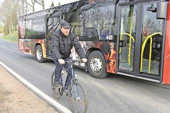 Radfahrer fühlen sich unsicher in Dipps