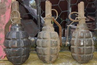 Malschwitz: Handgranaten gefunden