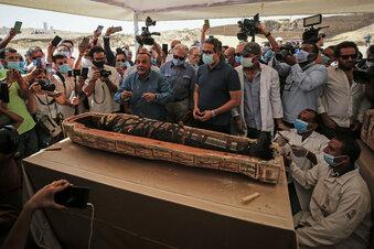 Spektakuläre Funde in Ägypten