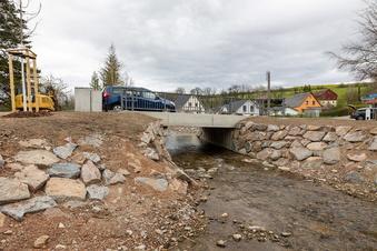 Die letzten Reichstädter Brücken bald fertig