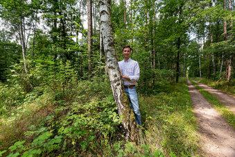Ein Waldfriedhof für das Osterzgebirge
