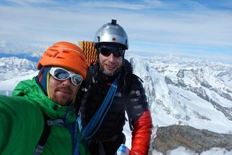 Mit dem Rad auf dem Weg zu Europas höchsten Gipfeln