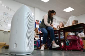 Luftfilter in Schulen - Sachsen prüft Einsatz