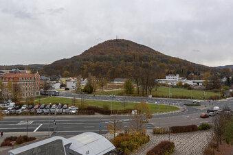 Stillstand in Freitals Stadtzentrum