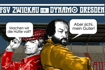 Zwickau meldet: Dynamo-Spiel ausverkauft