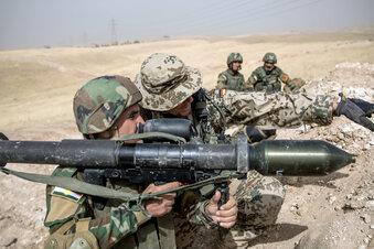 Streit über Bundeswehreinsatz im Irak