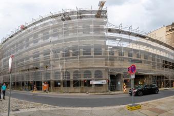 Neumarkt-Quartier Hoym wird später fertig