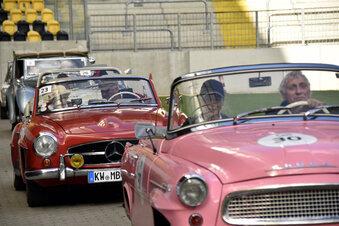 Größte Oldtimer-Rallye Sachsens startet