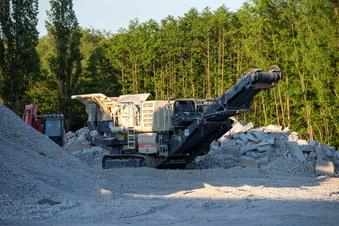 A17-Baustelle: Ärger um Abbruch-Beton