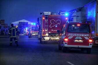 Schwieriger Feuerwehreinsatz bei Horizon Global in Hartha