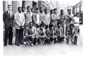 Als Kubas Olympioniken in Görlitz Fußball spielten