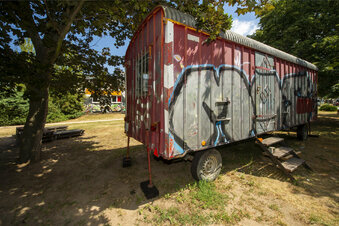 Ein Zirkuswagen für Jugendliche