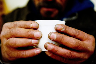 Duschbus für Dresdens Obdachlose vor dem Aus