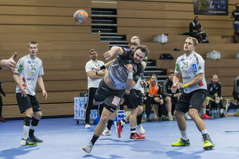 Dresdner Handballer besiegen Emsdetten