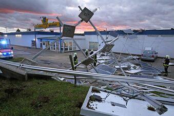 Sturmtief hinterlässt viele Schäden