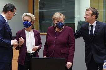 """EU-Gipfel feiert die """"Kompromissmaschine"""" Merkel"""