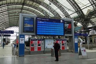 Stromausfall am Hauptbahnhof Dresden