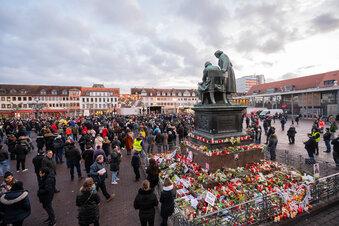 Hanau trauert um Anschlagsopfer