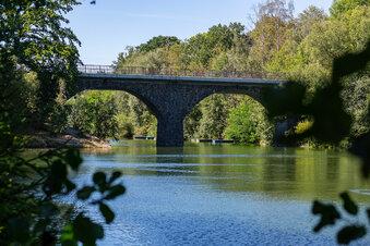 Bogenbrücke an der Malter wird ausgebaut