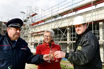 Neugersdorfs neues Depot wächst